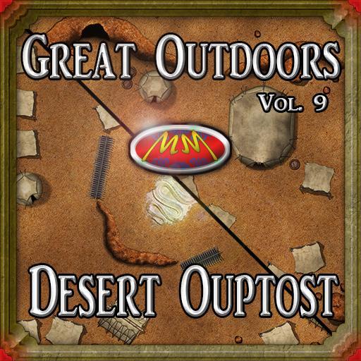 GOv9: Desert Outpost