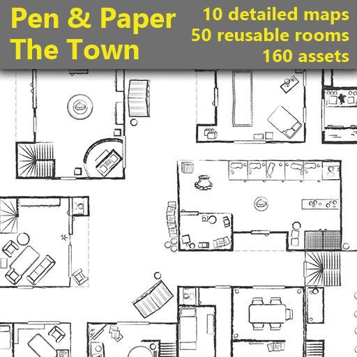 Pen & Paper - The Town