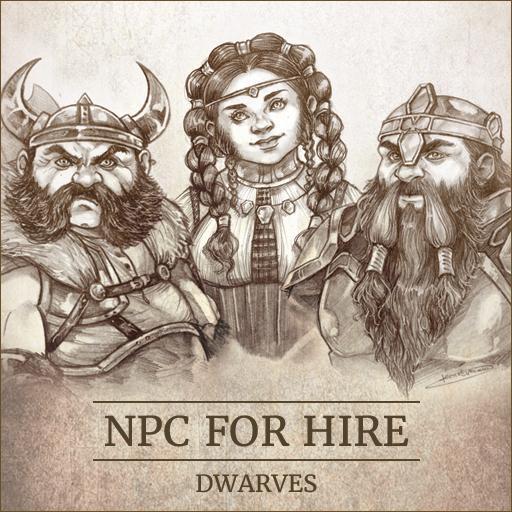 NPC For Hire - Dwarves