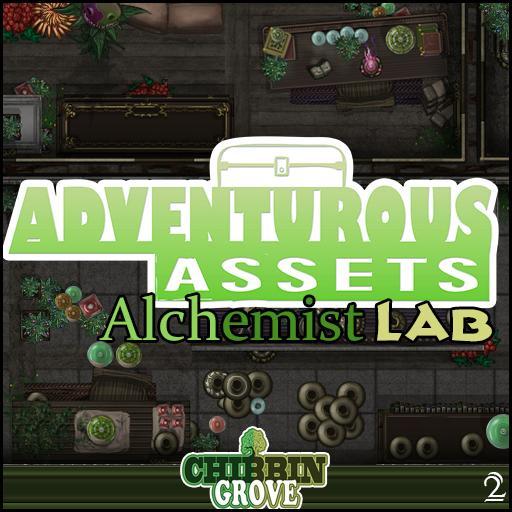 Chibbin Grove Adventurous Assets 2 Alchemist Lab