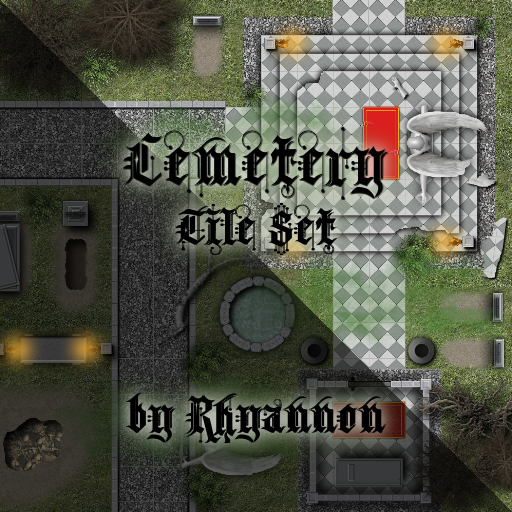 Cemetery Tile Set