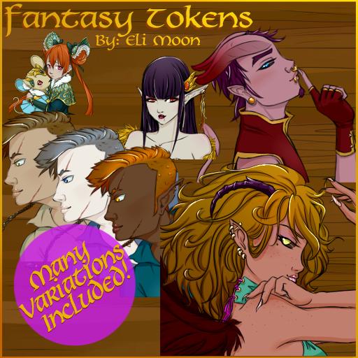Fantasy Tokens 4