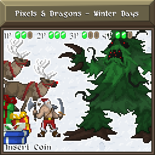 Pixels and Dragons - Winter Days