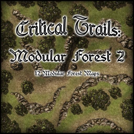 Critical Trails: Modular Forest 2