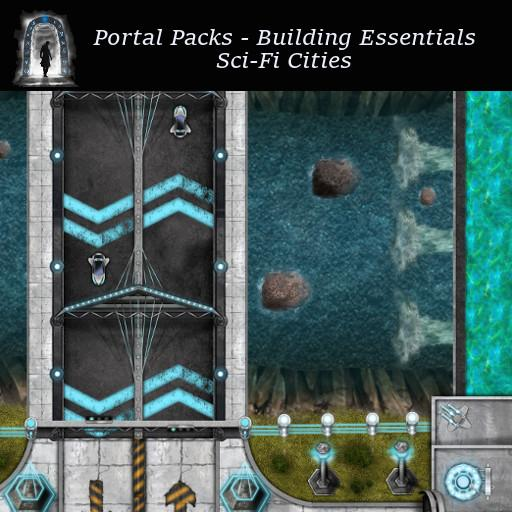 Portal Packs - Building Essentials - Sci-Fi Cities