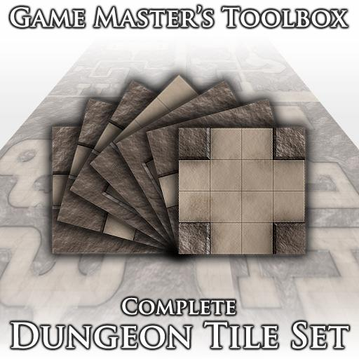 Complete Dungeon Tile Set