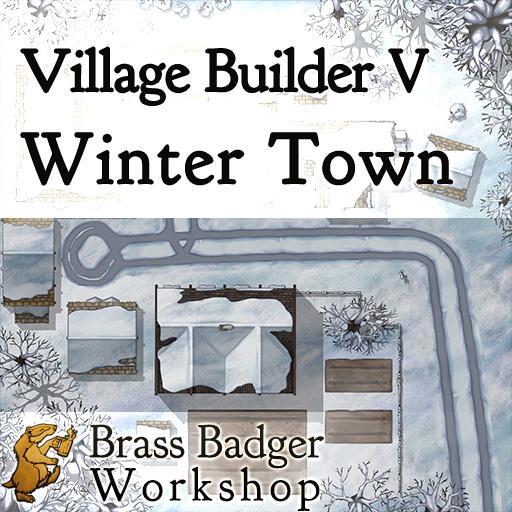 Village Builder V - Winter Town