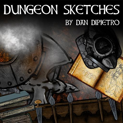 Dungeon Sketches Token Pack
