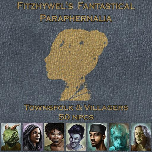 Fitzhywels Fantastical Paraphernalia Townsfolk and Villagers