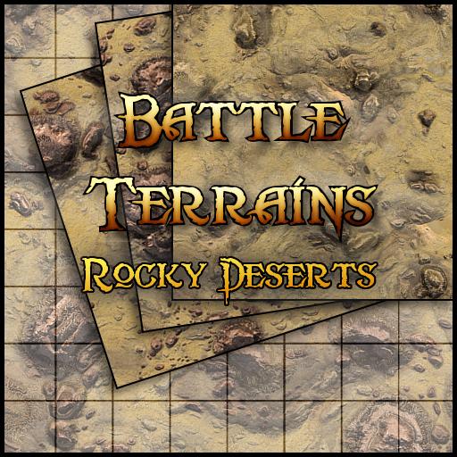 Battle Terrains Rocky Desert
