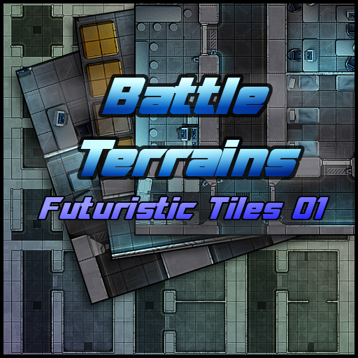 Battle Terrains Futuristic Tiles 01