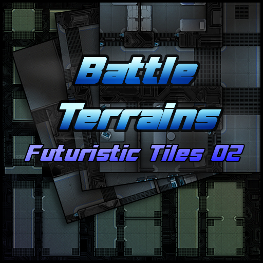 Battle Terrains Futuristic Tiles 02