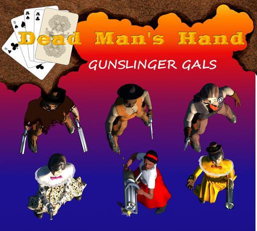 Dead Man's Hand - Gunslinger Gals