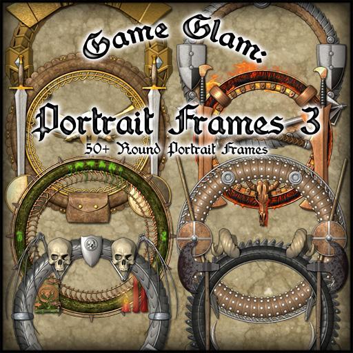 Game Glam: Portrait Frames 3