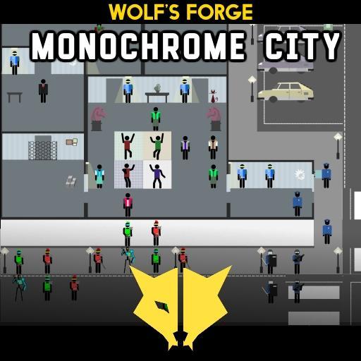 Monochrome City Tokens