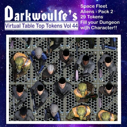 Space Fleet - Aliens - Pack 2