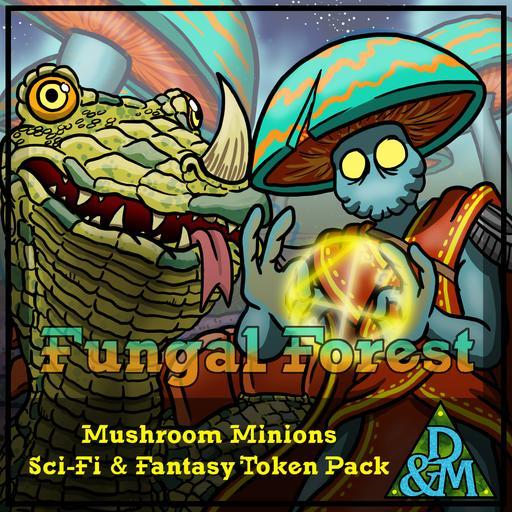 Fungal Forest - Mushroom Minions
