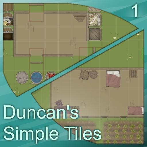 Duncan's Simple Tiles - Bundle 1