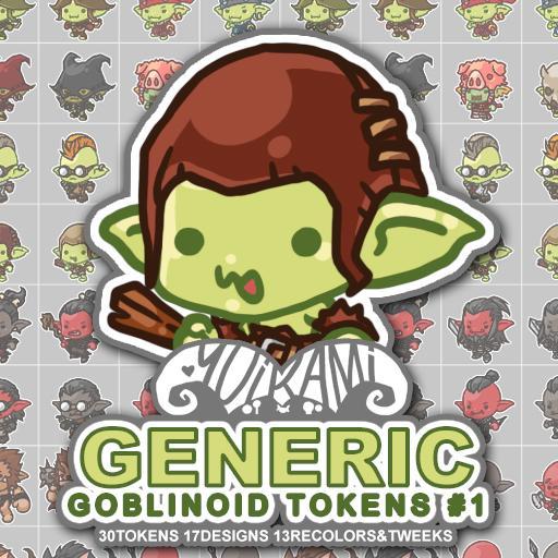 Generic Goblinoid Tokens 1