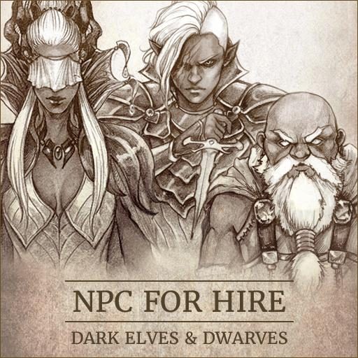 NPC For Hire - Dark Elves & Dwarves