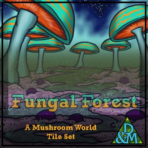 Fungal Forest - Terrain Tileset