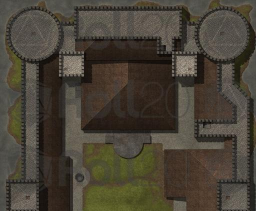Hassle-Free Castles: Military Keep | Roll20 Marketplace: Digital ...