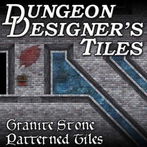 Dungeon Designers Tiles - Granite Stone Parallel Bricks
