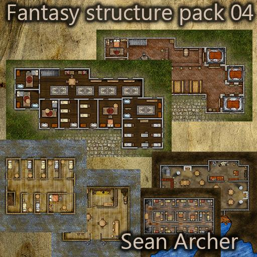 Fantasy Structure Pack 04