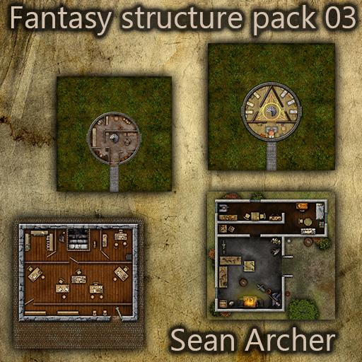 Fantasy Structure Pack 03