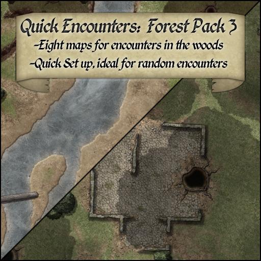 Quick Encounters: Forest Pack 3
