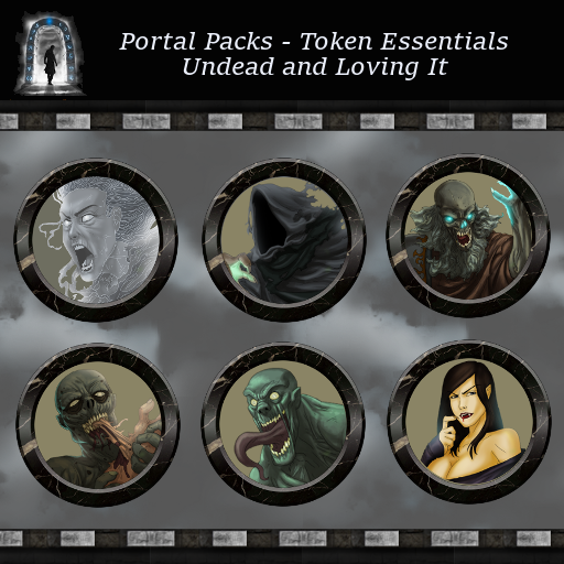 Portal Packs - Token Essentials - Undead and Loving it