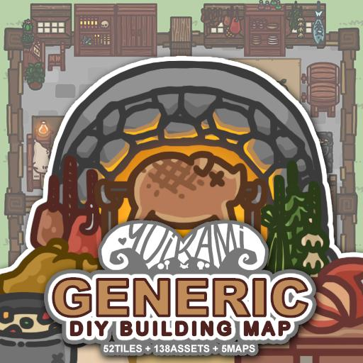 Generic DIY Building Map