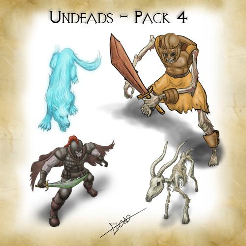 Undeads - Pack 4