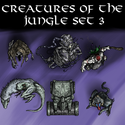 Creatures of the Jungle Set 3