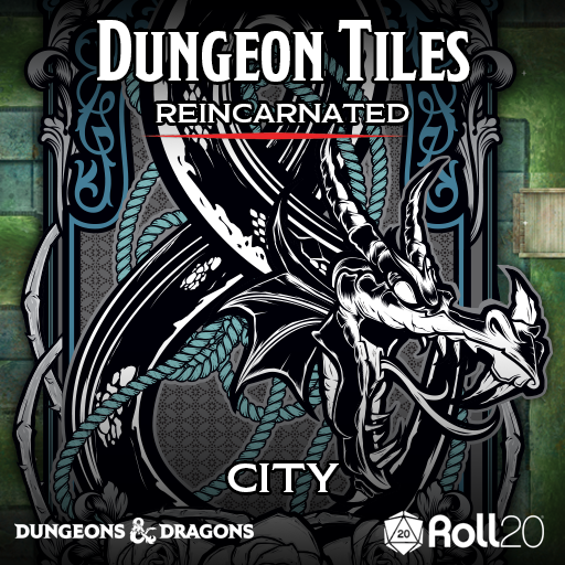 Dungeon Tiles Reincarnated: City (Maps)