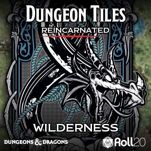 Dungeon Tiles Reincarnated: Wilderness (Maps)