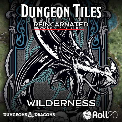 Dungeon Tiles Reincarnated: Wilderness (Tiles)
