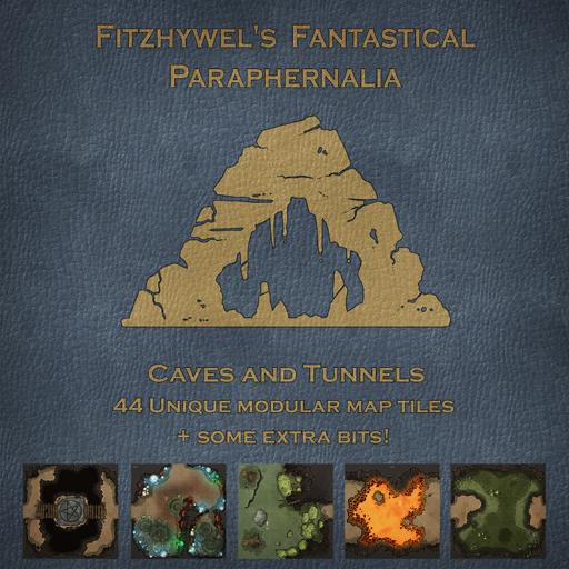 Fitzhywels Fantastical Paraphernalia: Caves and Tunnels