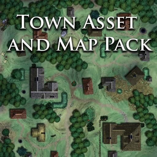 Town Asset and Map Pack