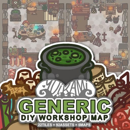 Generic DIY Workshop Map