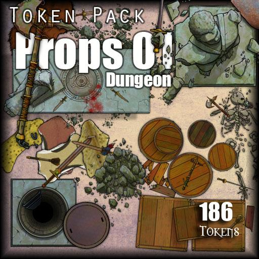 Props 01 - Dungeon