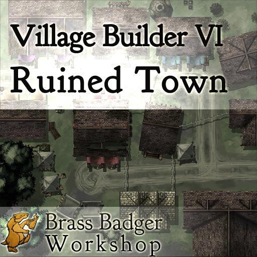 Village Builder VI - Ruined Village