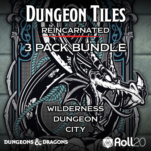 Dungeon Tiles Reincarnated: 3 Pack Bundle