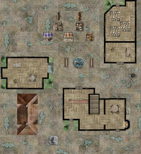 Dungeon Tiles Reincarnated City Maps Roll20