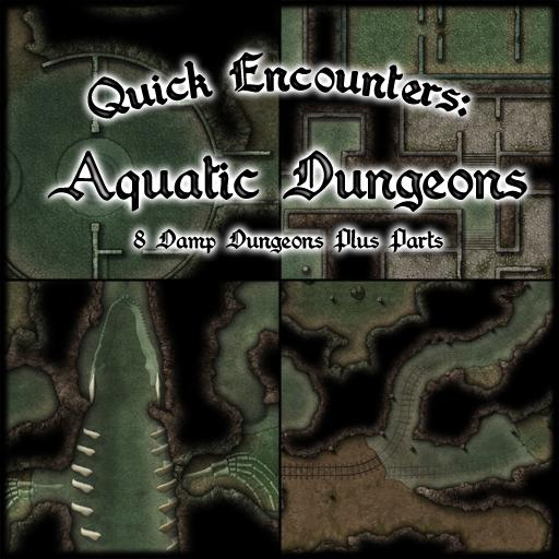 Quick Encounters: Aquatic Dungeons
