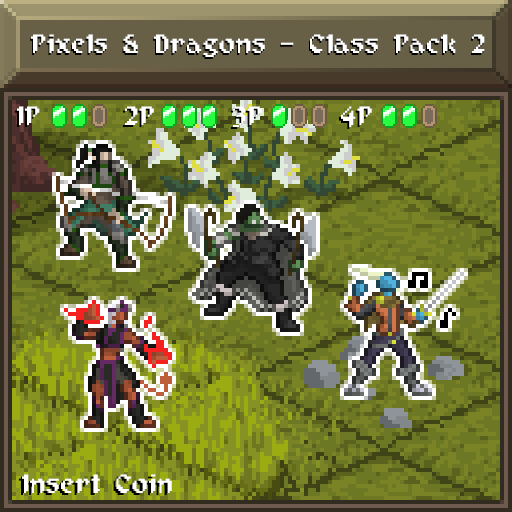 Pixels and Dragons - Class Pack 2