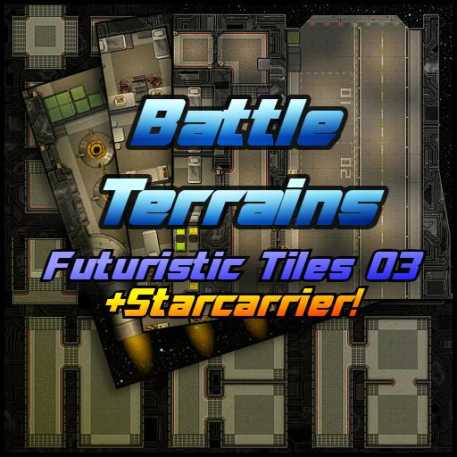 Battle Terrains Futuristic Tiles 03
