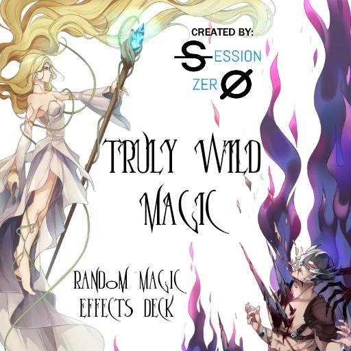 Truly Wild Magic Random Magic Effects Deck