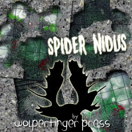 Spider Nidus Dungeon-On-Demand Map Pack