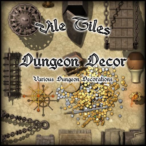 Vile Tiles: Dungeon Decor